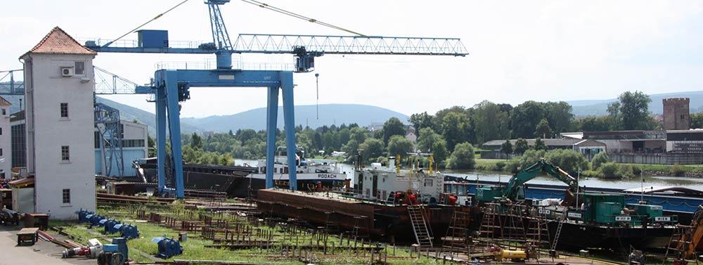 Geschichte der Erlenbacher Werft